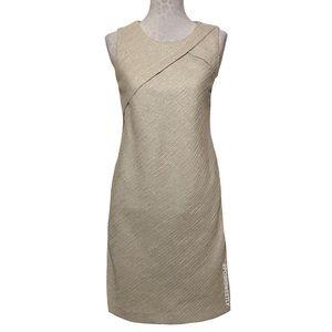 Banana Republic Tweed Midi Sheath Dress